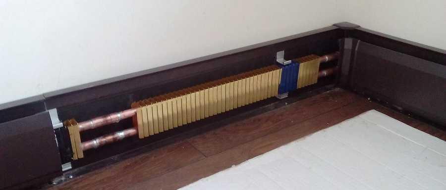 Плинтусная система отопления: плюсы и минусы, принцип работы, тип обогрева и установка своими руками