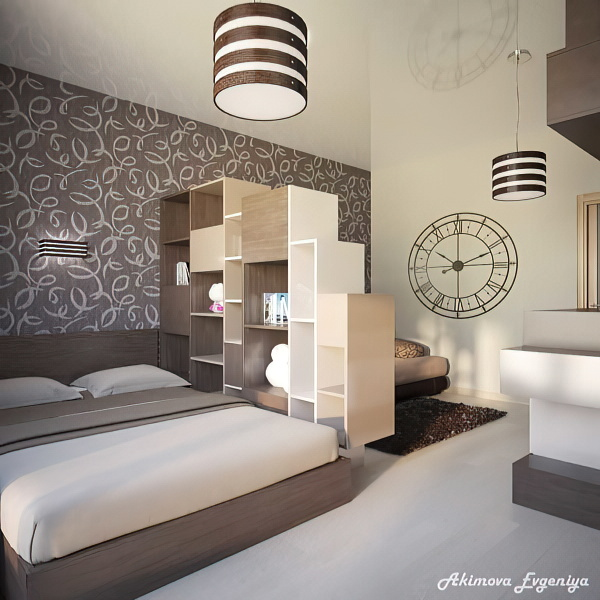 Удачные примеры совмещения спальни и гостиной: 100 лучших идей