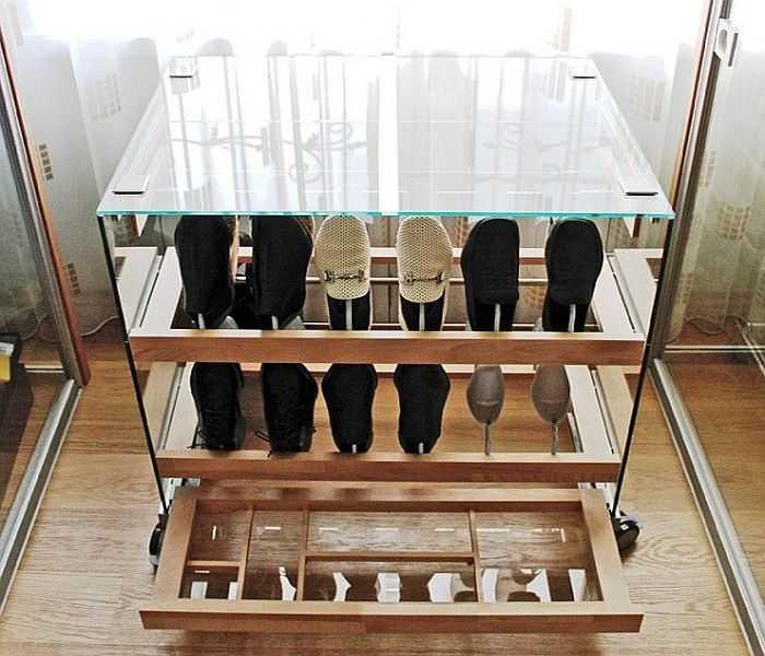 Обувница в прихожую: выбор, размеры, материалы и (70 фото)