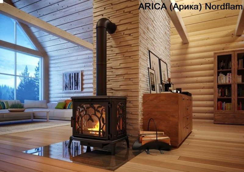 Печь камин длительного горения для дачи: на дровах, угле, (брикетах)