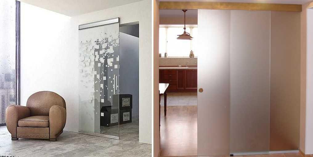 Стеклянные межкомнатные двери: виды, плюсы и минусы