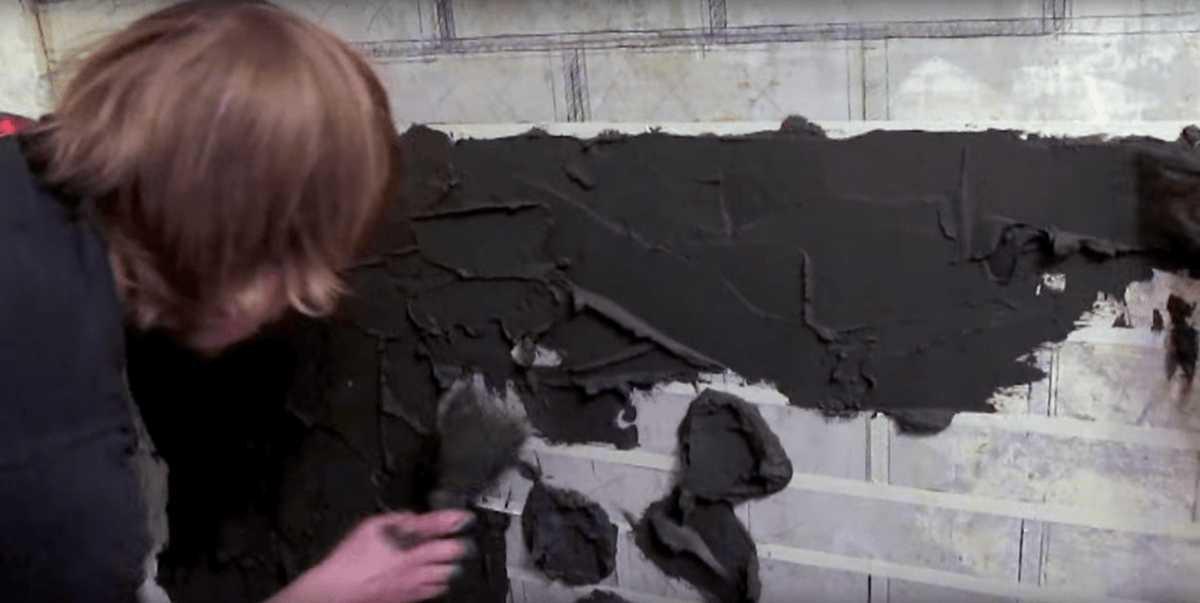 Имитация кирпичной кладки своими руками: способы (фото + видео)