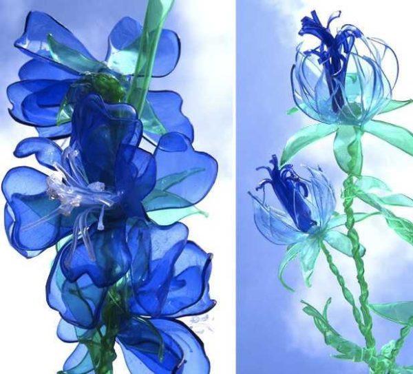 Поделки из пластиковых бутылок: идеи изделий из пластика для сада, дачи, огорода, мастер-классы + фото