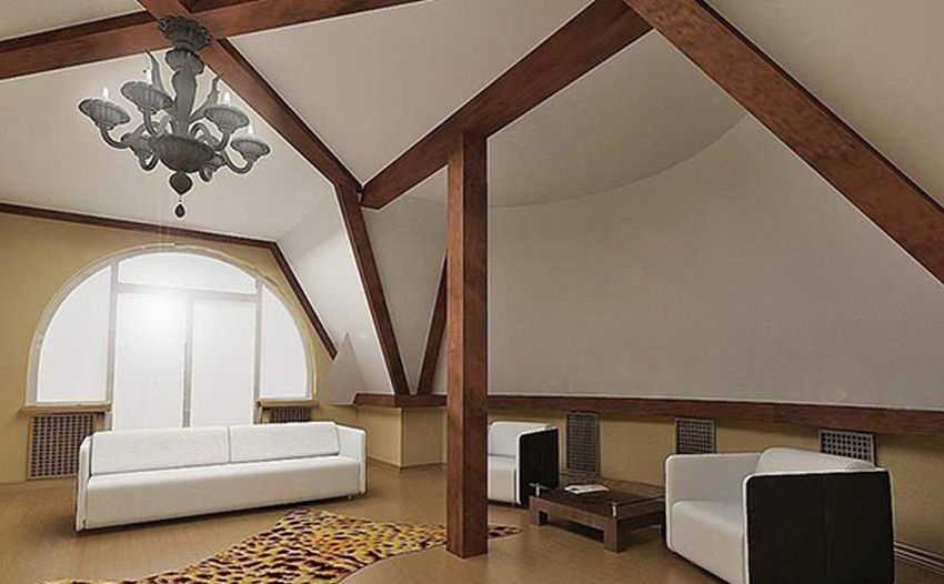 Дизайн интерьера мансарды: (70+ фото) какую комнату устроить в дизайне мансарды