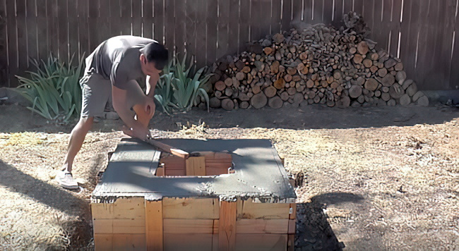 Как сделать кострище на даче своими руками + (25 фото)