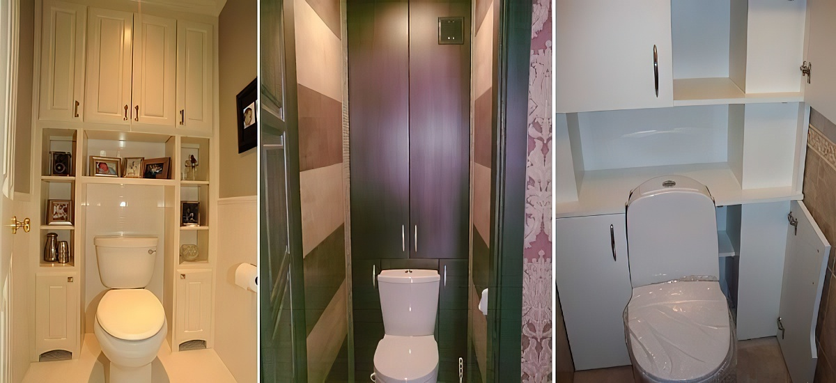 Шкафчик в туалет своими руками: разновидности, материалы, сборка