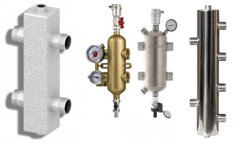 Гидрострелка для отопления: принцип работы назначение расчеты + фото