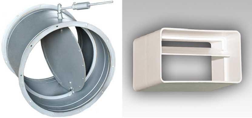 Обратный клапан на вентиляцию: виды, устройство, установка на вытяжку + фото