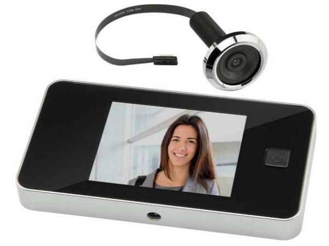 Видеоглазок - как выбрать, установка, ТОП 10 лучших моделей