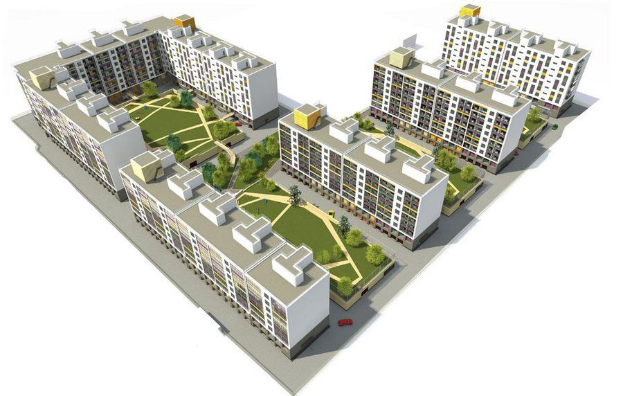 Расстояние между домами: нормы СНиП на участке при строительстве, противопожарные нормы