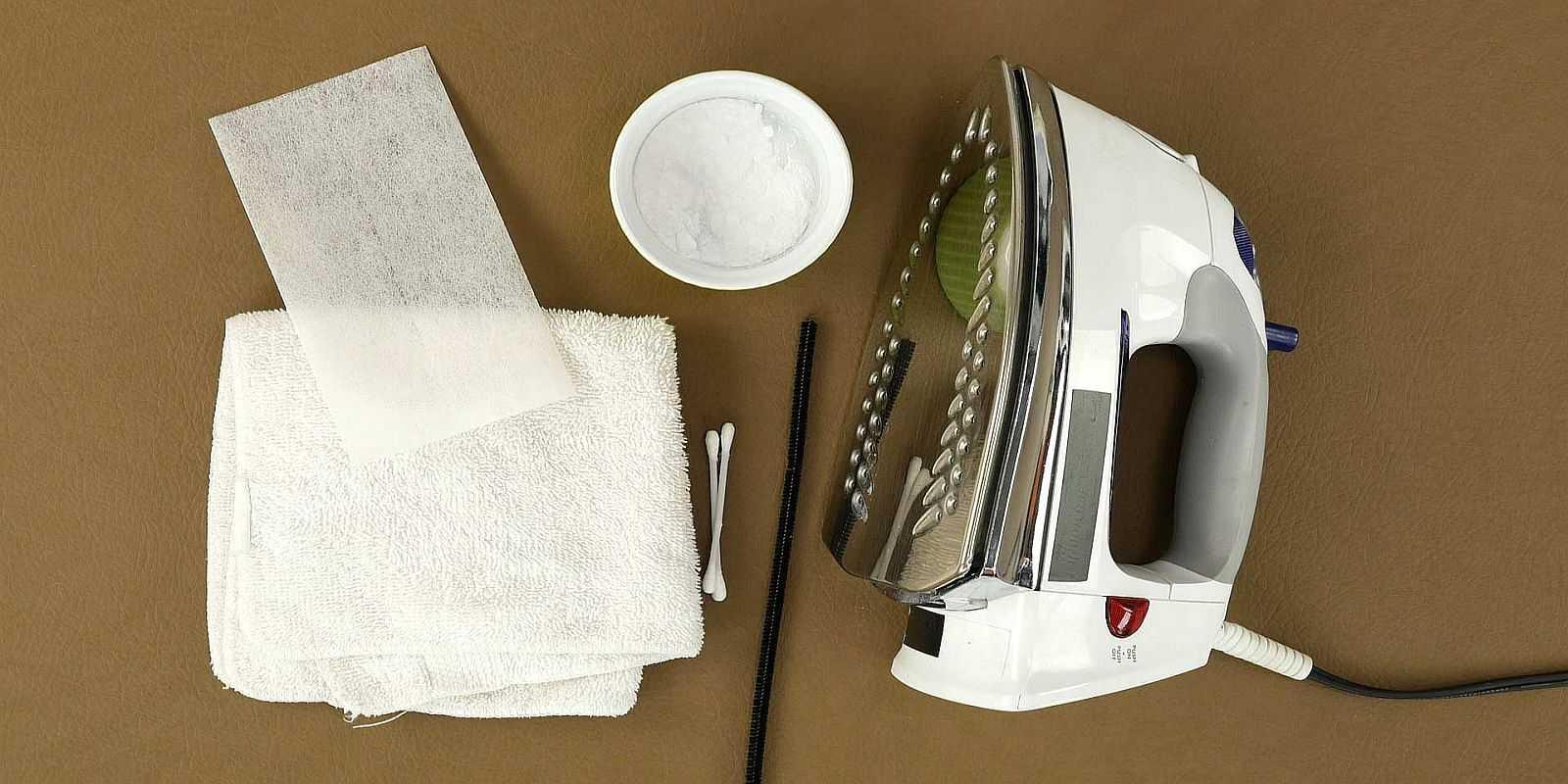 Как почистить утюг от накипи и нагара в домашних условиях