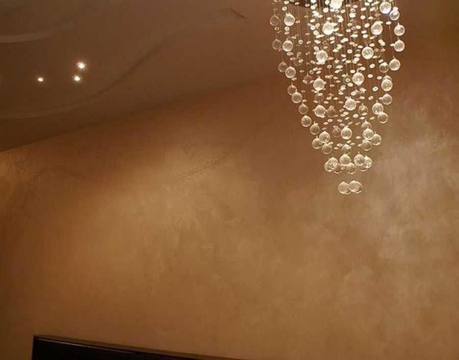 Декоративная краска для стен: эффекты + способы нанесения