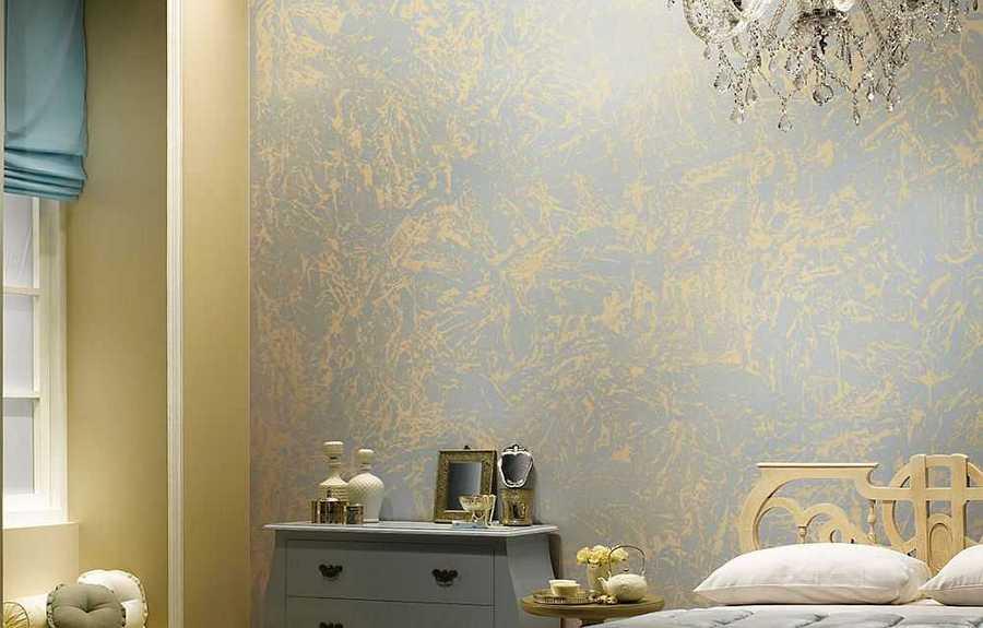Выбираем декоративную краску для стен