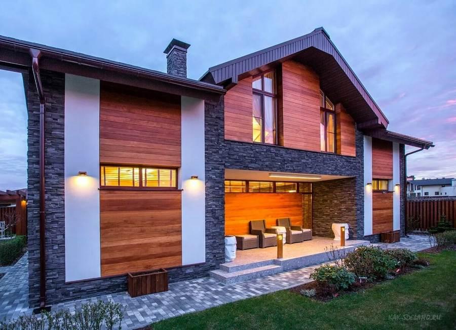 Наружная отделка дома: варианты, описание, как и чем обшить?