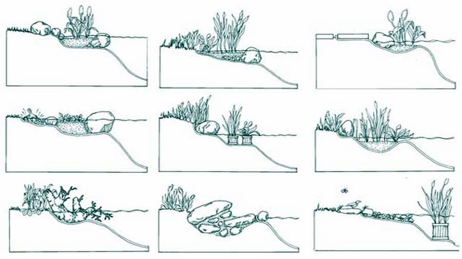 Как сделать пруд своими руками: (100+ фото с инструкцией)