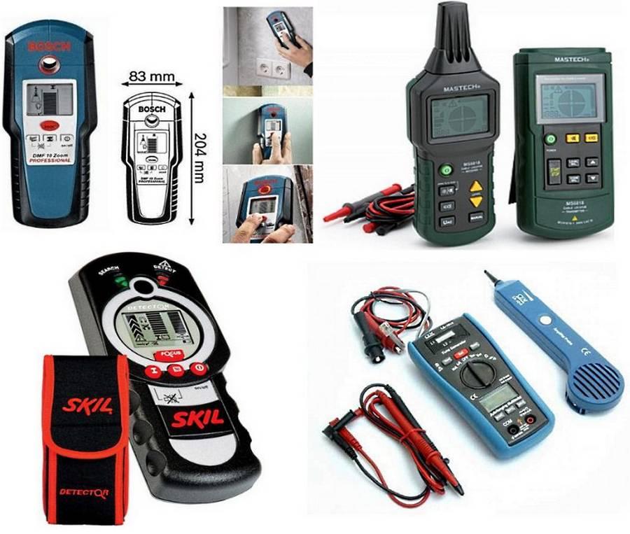 Как выбрать детектор проводки и металлов: лучшие детекторы скрытой проводки + советы по выбору