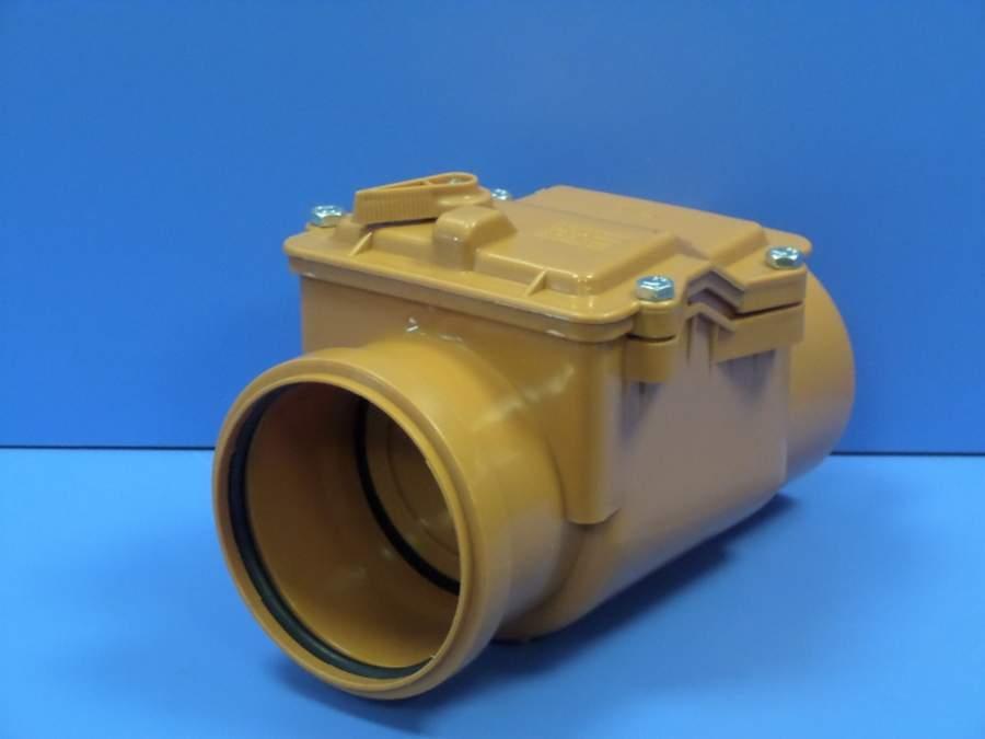 Обратный клапан для канализации: назначение монтаж разновидности + фото