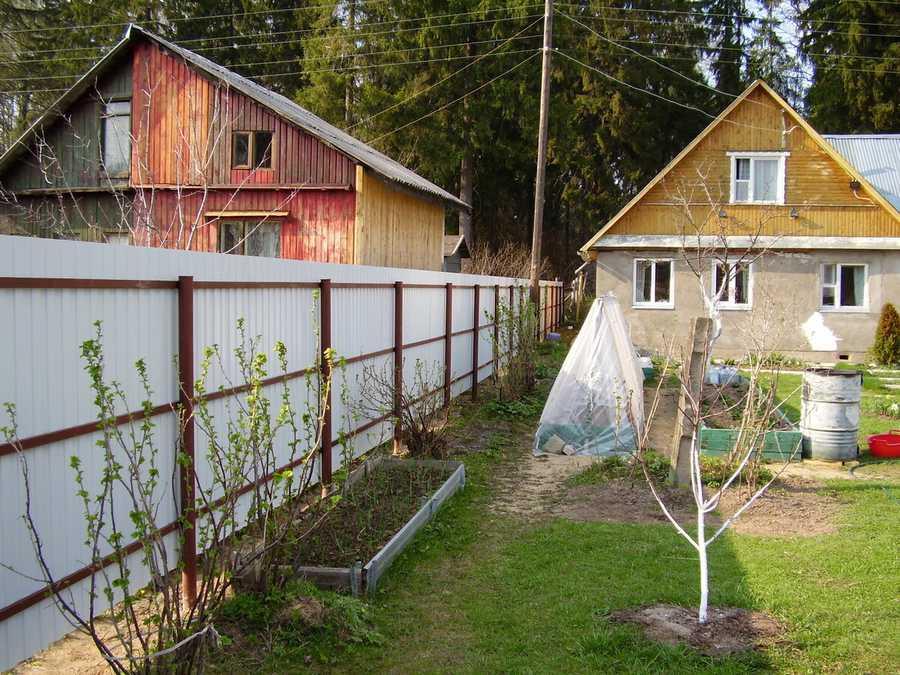 Расстояние от дома до забора: сколько метров от забора можно строить дом - на каком расстоянии от забора строить дом, снип