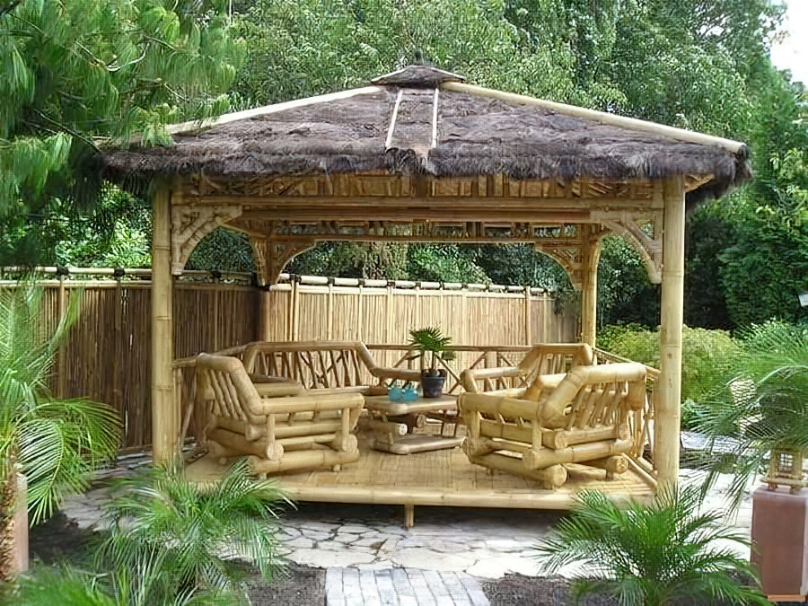 Самые простые беседки для дачи: интересные идеи для сада - двора + фото