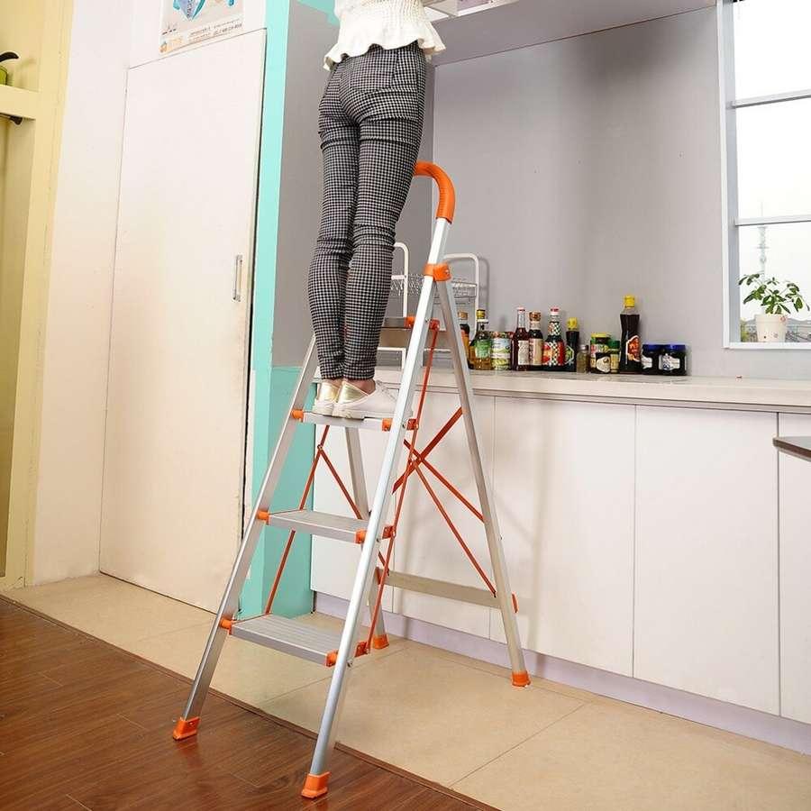 ТОП лучших стремянок для квартиры: как выбрать, обзор, отзывы + советы