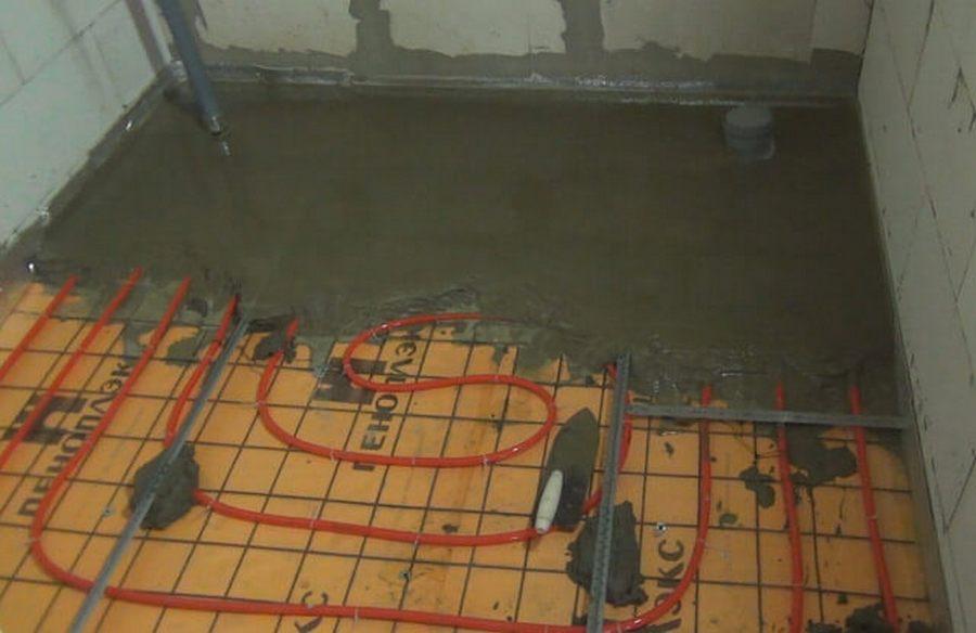Как правильно залить теплый пол в доме: раствор для стяжки водяного пола