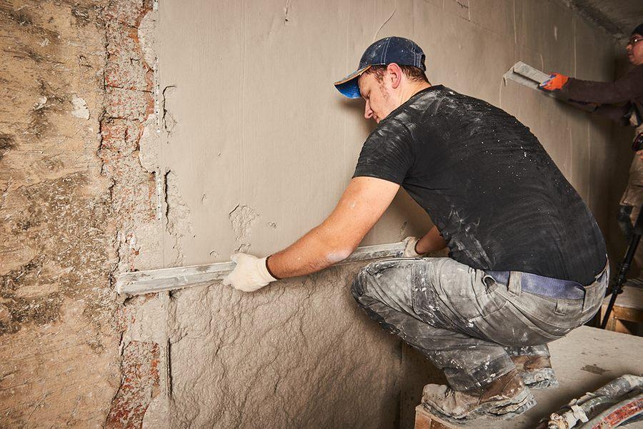 Штукатурка стен по маякам своими руками: технология, рекомендации по работе, материалы + инструменты