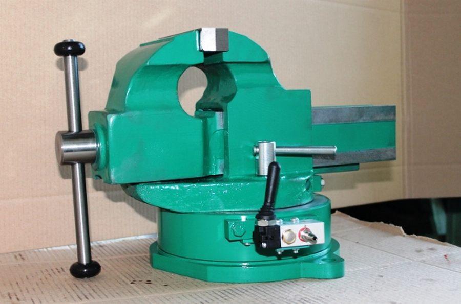 Виды тисков - основные типы слесарных, станочных и др. тисков