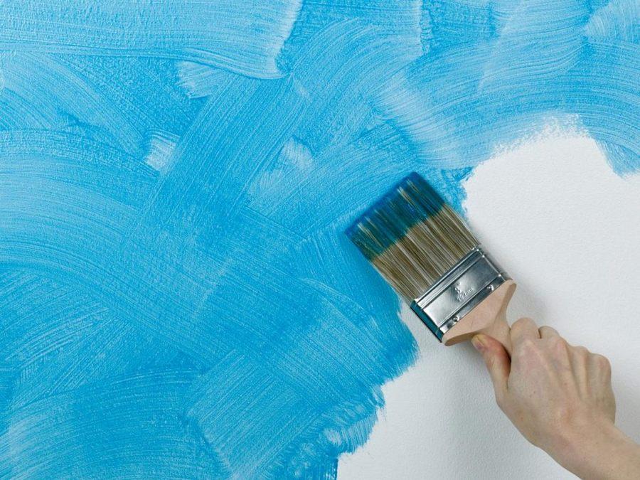 Фактурная краска для стен: характеристики, виды, нанесение, использование + фото