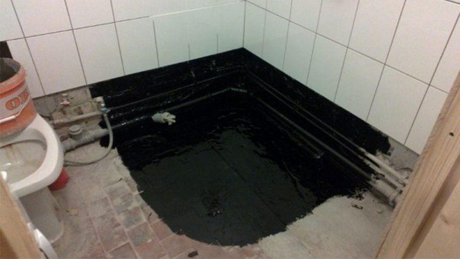 Гидроизоляция ванной комнаты: технология работ, применяемые материалы + руководство