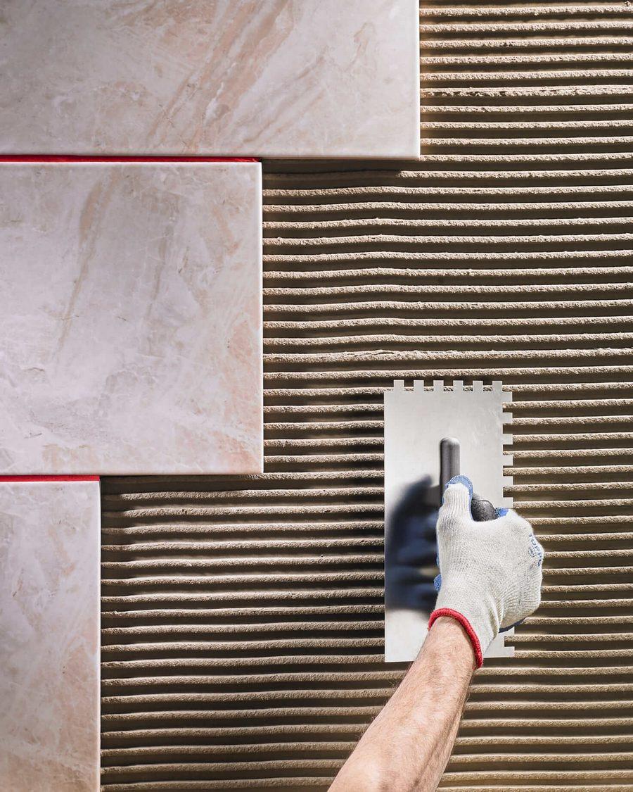 Как клеить плитку на гипсокартон + (фото)
