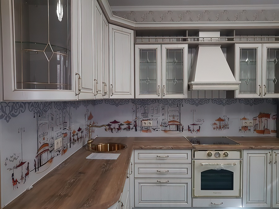 Скинали для кухни: особенности фартука из стекла, плюсы и минусы установки пластиковых кухонных скиналей + фото реальных интерьеров
