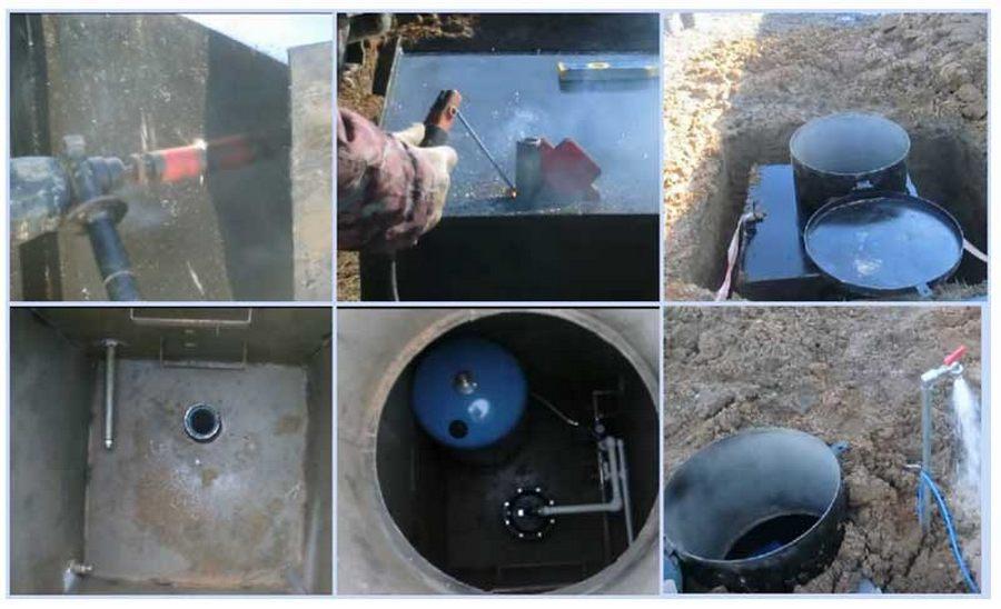 Кессон для скважины: виды, назначение, монтаж, устройство