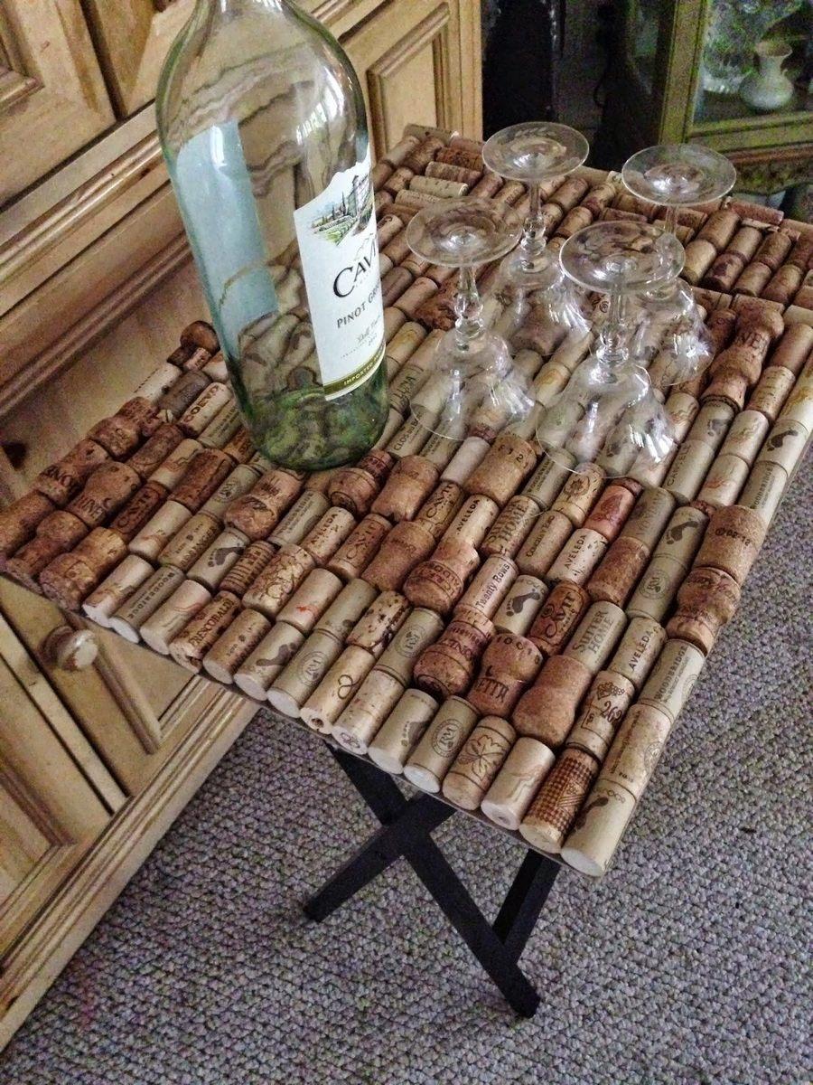 Идеи для декора из пробок от винных бутылок