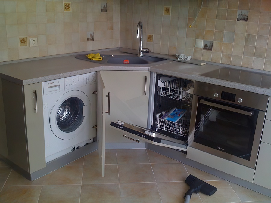 Самостоятельная установка и подключение посудомоечной машины
